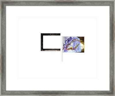 Magnet Framed Print by Edwin VanGorder
