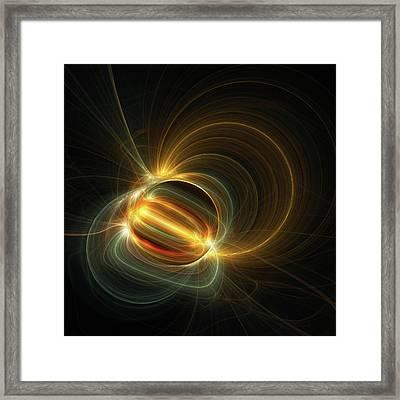 Magnetic Field Framed Print