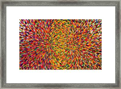 Magnetic Lines 2 Framed Print by Patrick OLeary