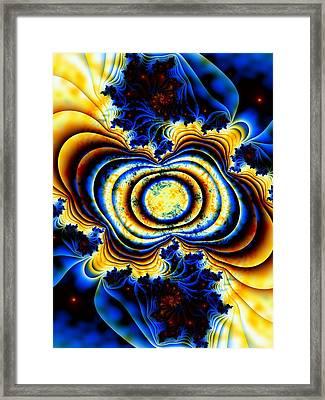 Magnetic Marvel Framed Print by Lauren Goia