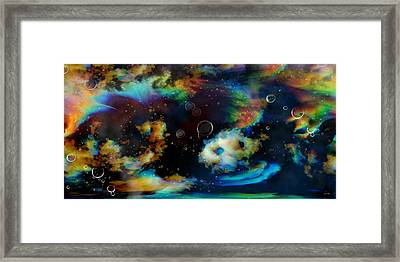 Magnetic Midnight Framed Print