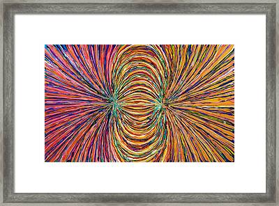 Magnetic Strings Framed Print by Patrick OLeary