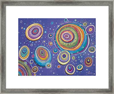 Magnetic Framed Print by Tanielle Childers