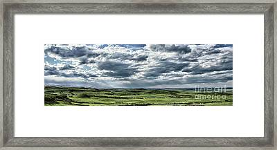 Magnetic View Framed Print