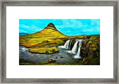 Magnific Nature - Da Framed Print by Leonardo Digenio