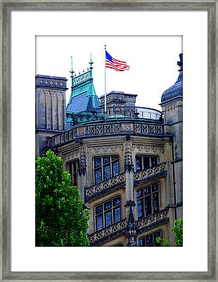 Magnificence That Is Biltmore Framed Print by Susie Weaver