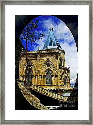 Framed Print featuring the photograph Magnificent Church Of Biblian by Al Bourassa