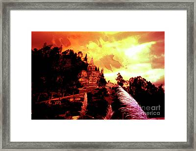 Framed Print featuring the photograph Magnificent Church Of Biblian IIi by Al Bourassa