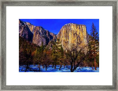 Magnificent El Capitan Framed Print by Garry Gay