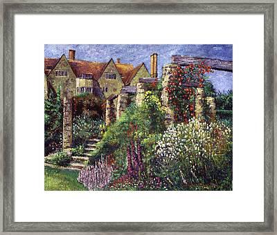 Magnificent Garden Framed Print by David Lloyd Glover