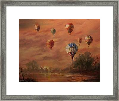 Magnificent Seven Framed Print by Tom Shropshire