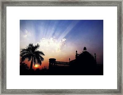 Magnificent Sky  Framed Print