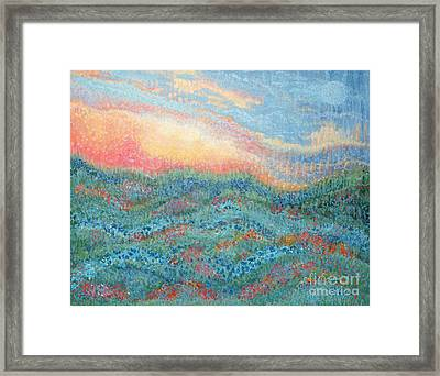 Magnificent Sunset Framed Print by Holly Carmichael