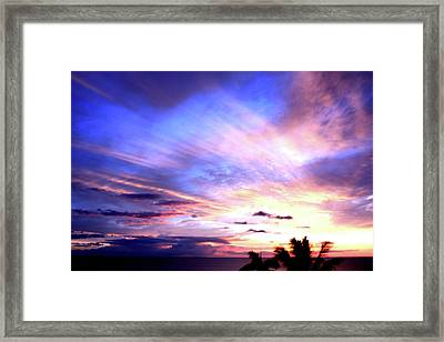 Magnificent Sunset Framed Print