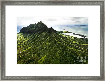 Magnificent Ridge Framed Print by Sean Davey