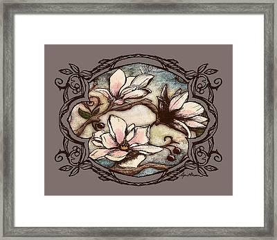 Magnolia Branch II Framed Print