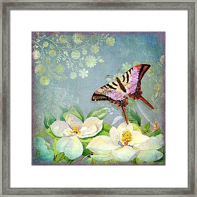 Magnolia Dreams  Framed Print by Audrey Jeanne Roberts