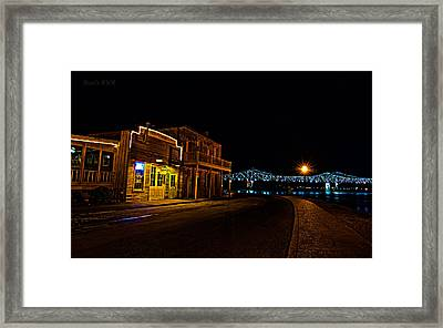 Magnolia Grill Framed Print by Stan Smith