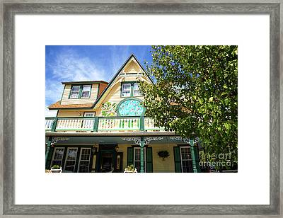 Framed Print featuring the photograph Magnolia House by John Rizzuto
