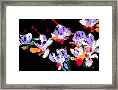 Magnolia Impressions Framed Print by Linda  Parker