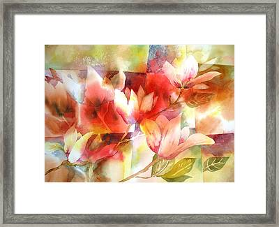 Magnolia Magic Framed Print