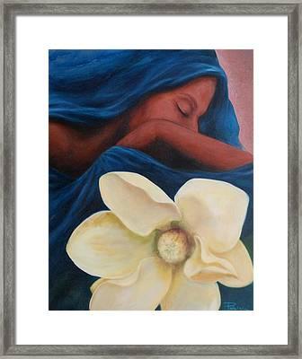 Magnolia Framed Print by Patricia Ann Dees