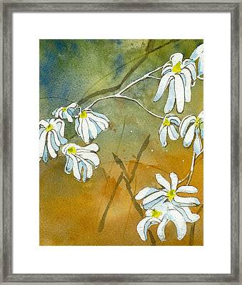 Magnolias 2 Of 3 Framed Print