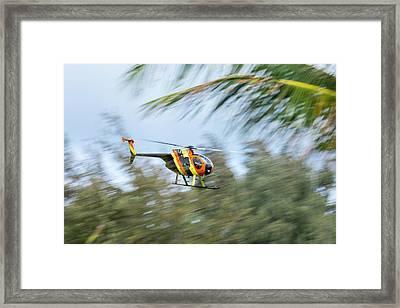 Magnum Speed Framed Print by Sean Davey