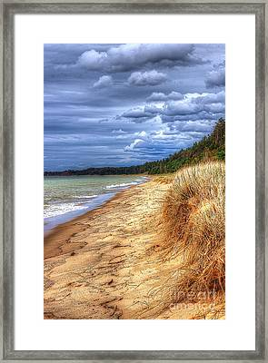 Magoon Creek North Framed Print