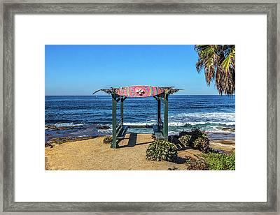 Mahalo Framed Print