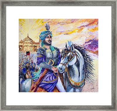 Maharaja Ranjit Singh Framed Print