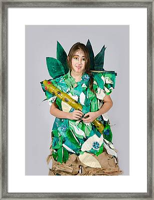 Mahko In The Jungle Book Framed Print