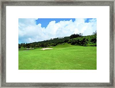 Mahogany Run Fairway Framed Print