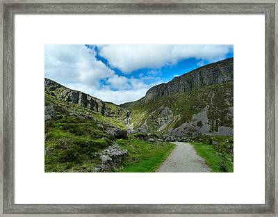 Mahon Falls Co Waterford Ireland. Framed Print by Debra Collins
