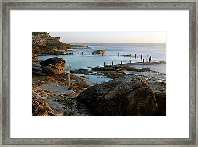 Mahon Pool Framed Print