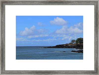 Framed Print featuring the photograph Mahukona by Pamela Walton
