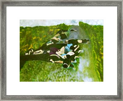 Mai-li Massacre Framed Print by Neil Trapp