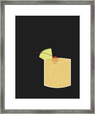Mai Tai  Framed Print by Julia Garcia