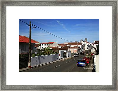 Maia - Azores Islands Framed Print