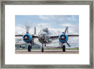 Maid In The Shade Framed Print