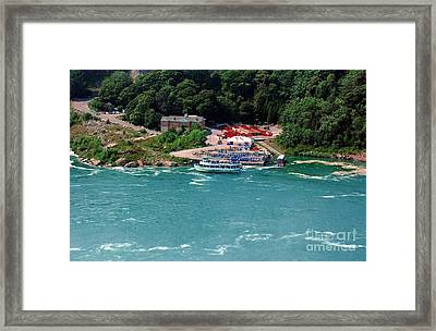 Maid Of The Mist Framed Print by Kathleen Struckle