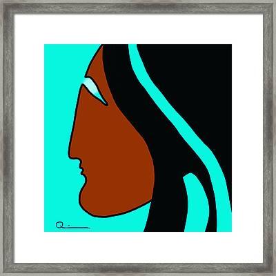 Maiden 2 Framed Print
