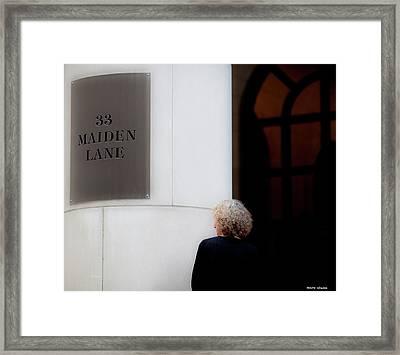 Maiden Framed Print