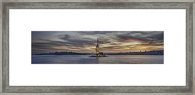 Maiden Tower Framed Print