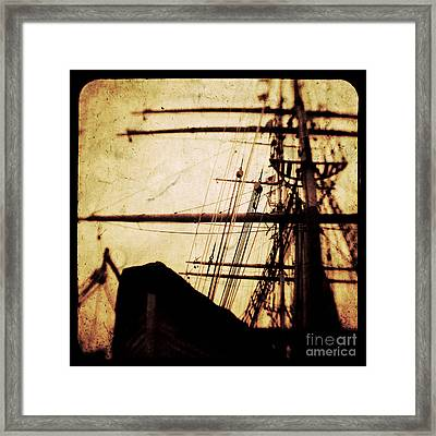 Maiden Voyage Framed Print by Andrew Paranavitana