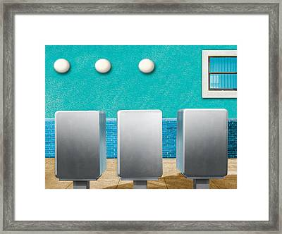 Mail Drop Framed Print by Paul Wear