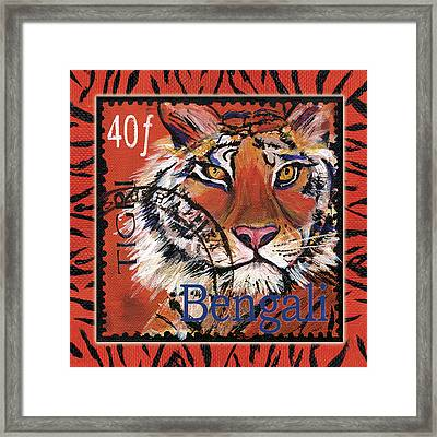 Mail Tail Framed Print by Debbie McCulley