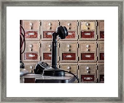 Mailbox 237 Framed Print