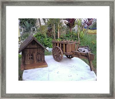 Mailbox Framed Print by Calixto Gonzalez