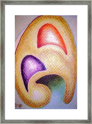 Mailed To You Framed Print by Suzanne Udell Levinger